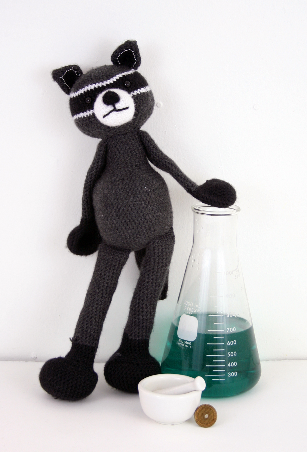 didn't you know? most raccoons dream of being chemists.