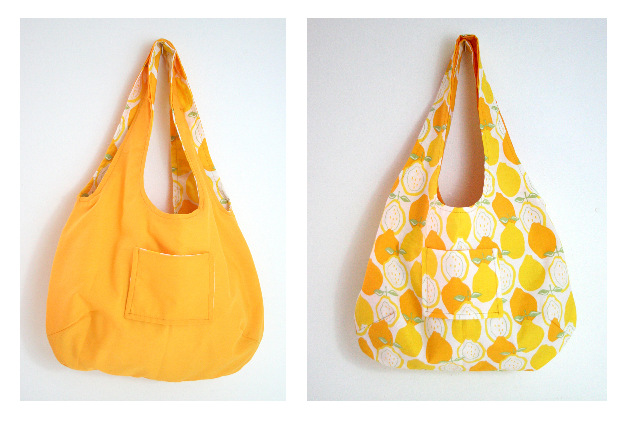 reversible yellow lemon